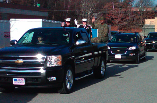 herb connolly chevrolet participates in new england toys for tots. Cars Review. Best American Auto & Cars Review