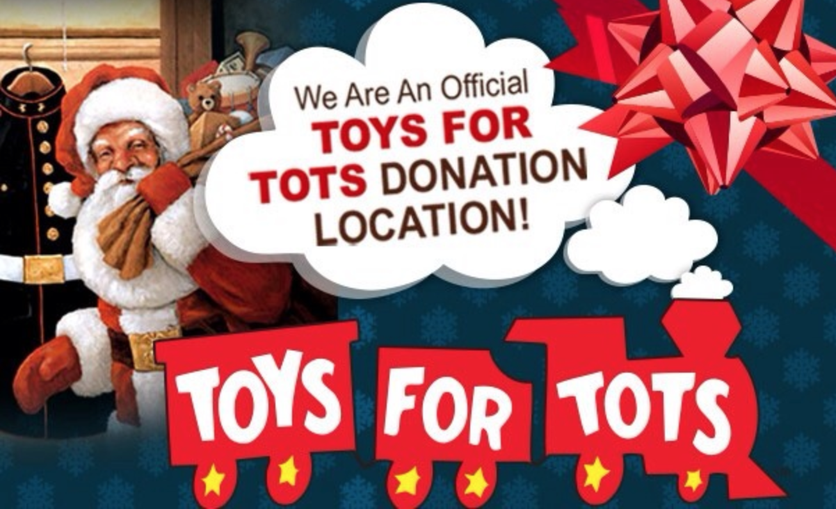 Herb Connolly Collects Toys For Tots