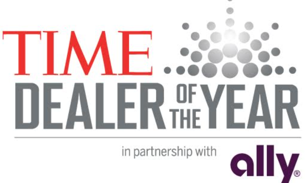 Adam Connolly Honored by TIME & ALLY Financial Dealer of the Year Nomination!